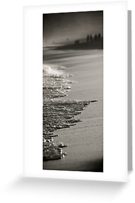 Segment-Details of the Australian Shoreline. Bar Beach,Newcastle by Paul Foley