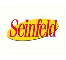 Seinfeld Logo Art Print