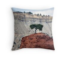 Alone On The Hill Throw Pillow