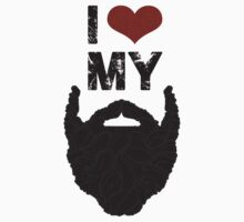 I Love My Beard by mijumi