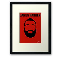 James Harden Framed Print