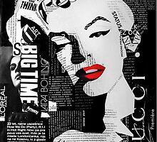 Marilyn Monroe by mb-art-photo