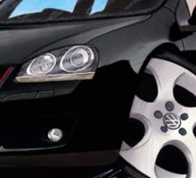 VW Golf GTi (Mk5) Black Sticker