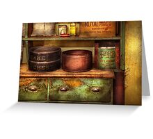 Chef - Kitchen - Food - The cake chest Greeting Card