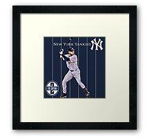 New York Yankees Captain Derek Jeter Framed Print