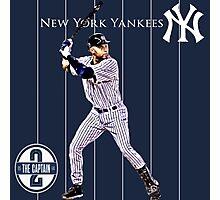 New York Yankees Captain Derek Jeter Photographic Print