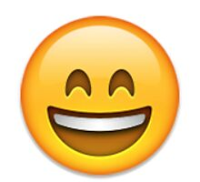 Emoji Happy Face by assorted