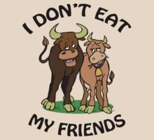 I Don't Eat My Friends by ticklish-wizard