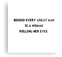 Woman Rolling Eyes Metal Print
