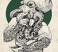 Mr Octopus Print/case by WOLFSKULLJACK