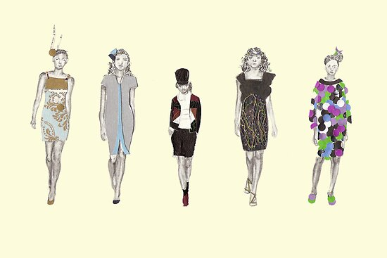 the fashion story by art4friends
