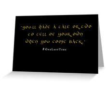 A Tale or Two Greeting Card