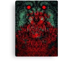 Werewolf shape Print/case Canvas Print