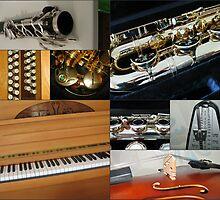 Fascinating Rhythm - Music Collage by SunriseRose