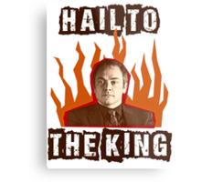 Hail To The King Metal Print