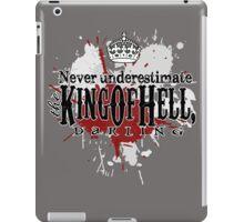 King of Hell iPad Case/Skin