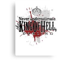 King of Hell Metal Print