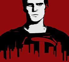 superman red by Octopusiscool