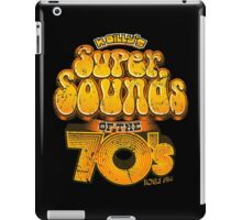 K Billy's Super Sounds of the 70s iPad Case/Skin
