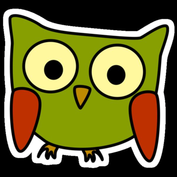 Groovy Owl by Danielle Kerese