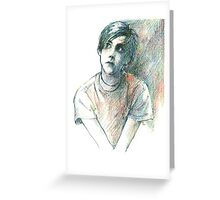 Conor Oberst Greeting Card