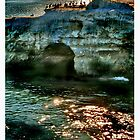 Sunset Natural Bridges by shell4art