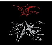 Lonely Mountain Photographic Print