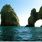 Cabo San Lucas Arch by Nicole Chambers