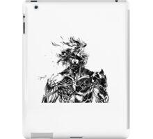 Metal Gear Rising Raiden Black and White iPad Case/Skin