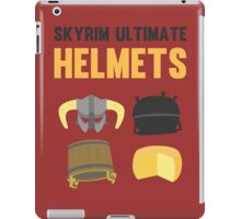 Skyrim ultimate helmets iPad Case/Skin