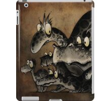 Funny Monsters! iPad Case/Skin