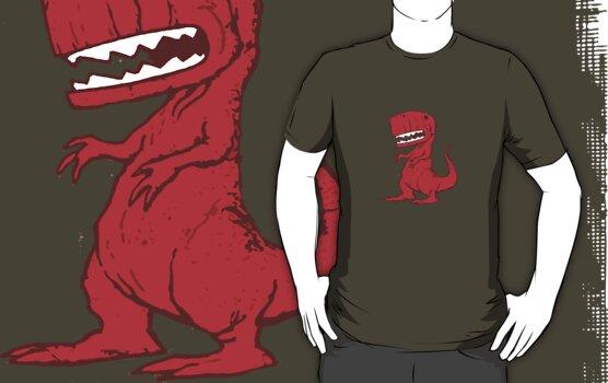 Big Red Dinosaur by ButcherBrand