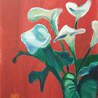 Lillies by Bernadette Burke