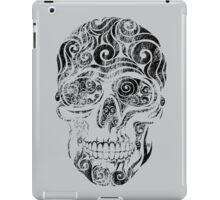 Swirly Skull iPad Case/Skin