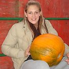 Tiffany and the Big Pumpkin by Lucinda70