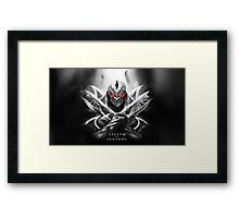 League of Legends - Zed Framed Print