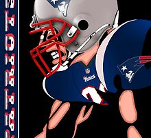 Patriots Nation Ready for the Game by Dan Snelgrove