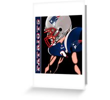 Patriots Nation Ready for the Game Greeting Card