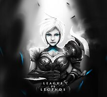 League of Legends - Riven by leagueofposters