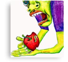 Adams Apple Canvas Print