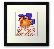 Mom - Betty Framed Print