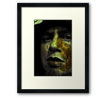 biohazard in my room Framed Print