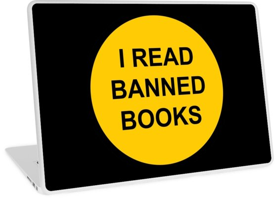 I Read Banned Books Sign by wetdryvac