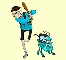Adventure Time Fooly Cooly by KumaGenis