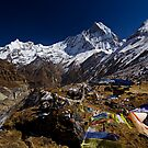 Macchapuchare at Annapurna Base Camp by morealtitude