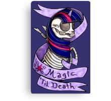 Magic 'Til Death MLP Twilight Canvas Print