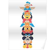 Disney Totem Poster