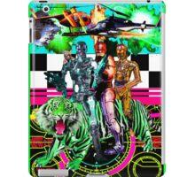 Robots Ride A Tiger iPad Case/Skin