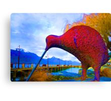 big bird 2 Canvas Print