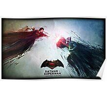 Batman vs. Superman World's Finest Poster